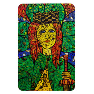 Patron Saint Of Depression And Anxiety St Dymphna Flexible Magnet