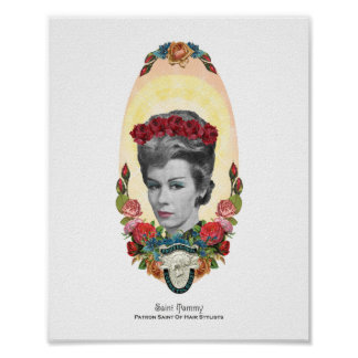 Patron Saint of Hair Stylists 8x10 Print