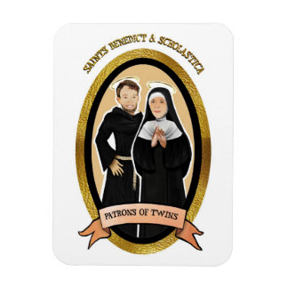 Patron Saints of Twins Icon Magnet