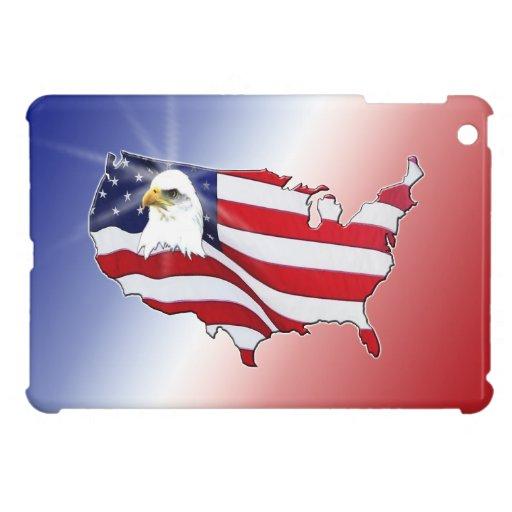 Patrotic American Eagle iPad Mini Cases