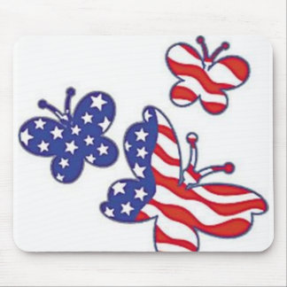 Patrotic butterflys, mousepad