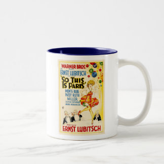 Patsy Ruth Miller So This is Paris movie poster Two-Tone Coffee Mug