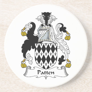 Patten Family Crest Coaster
