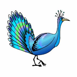 Patten Peacock Photo Cutouts