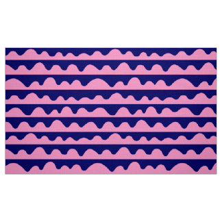Pattern 020815 - Pink and Deep Navy Fabric