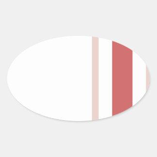Pattern 2017 021 oval sticker