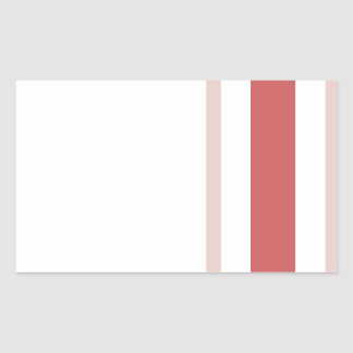 Pattern 2017 021 rectangular sticker