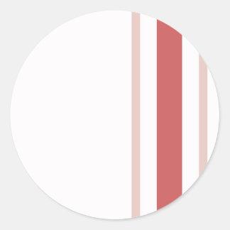 Pattern 2017 021 round sticker