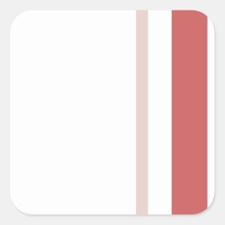 Pattern 2017 021 square sticker