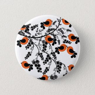 Pattern 4 6 cm round badge