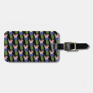 pattern 53 luggage tag