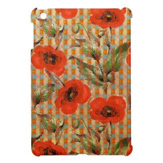 Pattern 946 Poppy iPad Mini Cases