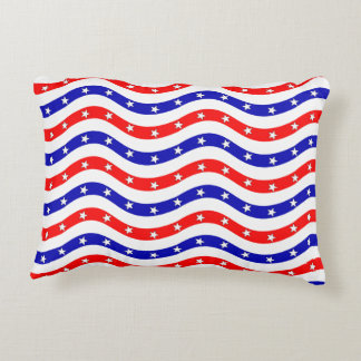 Pattern American Flag Decorative Cushion