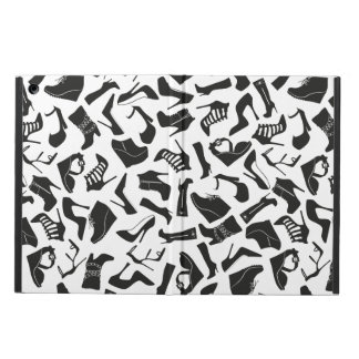 Pattern black Women's shoes iPad Air Case