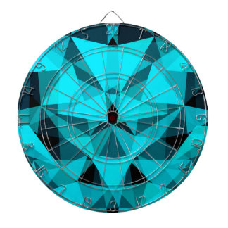 pattern blue dartboard