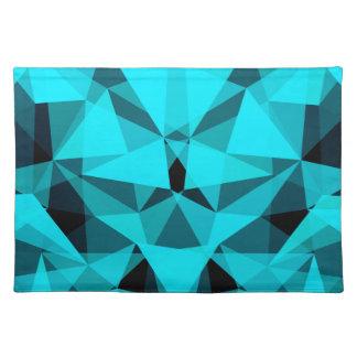 pattern blue placemat