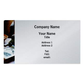 Pattern Book - Platinum Finish Business Cards