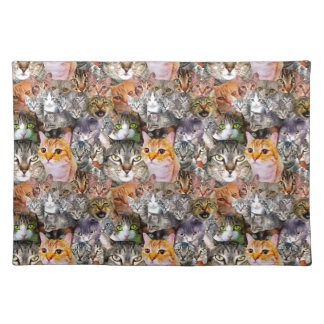Pattern Cats Placemat