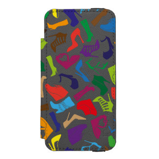 Pattern colorful Women's shoes Incipio Watson™ iPhone 5 Wallet Case
