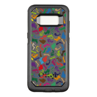Pattern colorful Women's shoes OtterBox Commuter Samsung Galaxy S8 Case