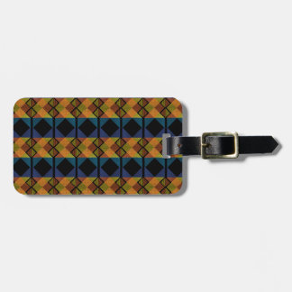 Pattern D Luggage Tag