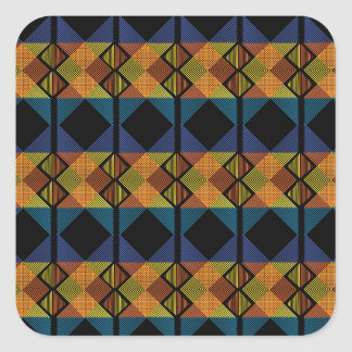 Pattern D Square Sticker