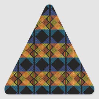 Pattern D Triangle Sticker