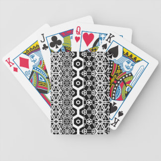 Pattern deck bicycle playing cards