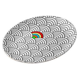 Pattern Decorative Plate! Porcelain Plates