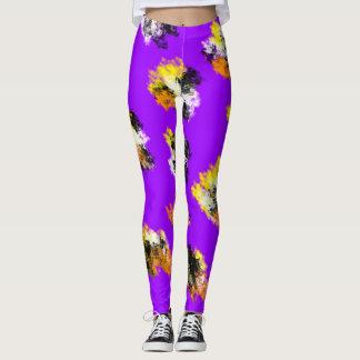 Pattern design leggings. leggings