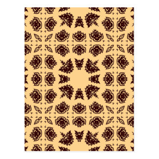 Pattern Design Style Post Cards