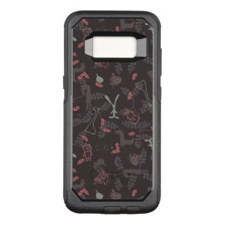 pattern displaying baby animals 1 OtterBox commuter samsung galaxy s8 case
