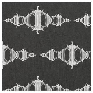 Pattern Dividers 03 White over Black Less Dense Fabric