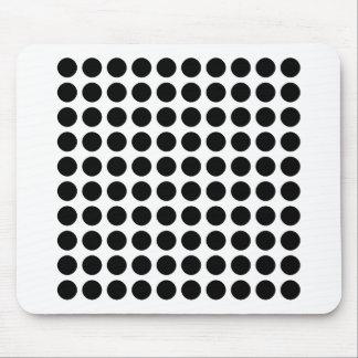 Pattern Dots Mouse Pad