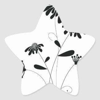 Pattern E Star Sticker