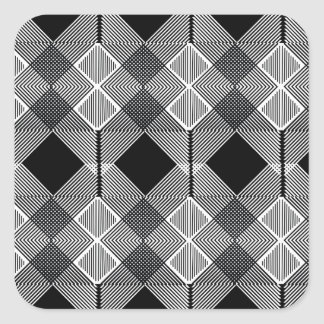 Pattern F Square Sticker