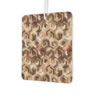 Pattern Factory 23 brown Car Air Freshener