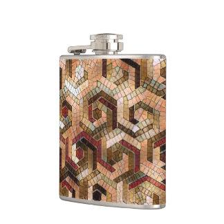 Pattern Factory 23 brown Hip Flask