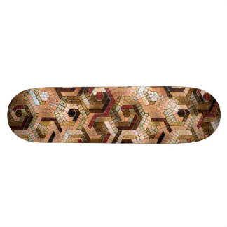 Pattern Factory 23 brown Skate Board