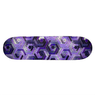 Pattern Factory 23 putple Skateboard Deck