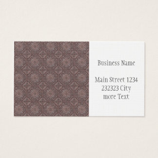 pattern factory, vintage 1A Business Card