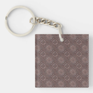 pattern factory, vintage 1A Key Ring