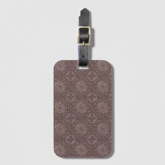pattern factory, vintage 1A Luggage Tag