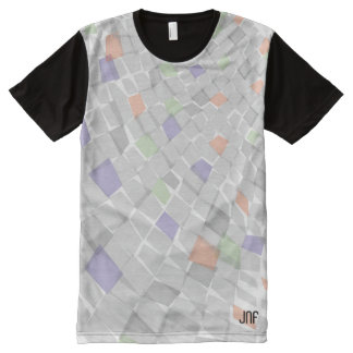 pattern full colour transparent design All-Over print T-Shirt