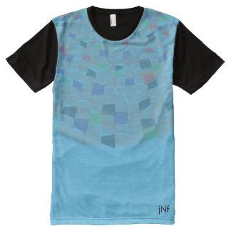 pattern full colour transparent design All-Over print T-Shirt