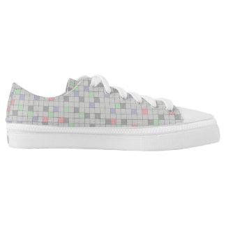 pattern full colour transparent design printed shoes