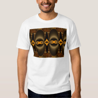 Pattern golden created by Tutti T-shirt