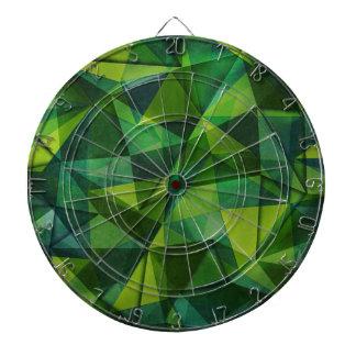 pattern green dartboard
