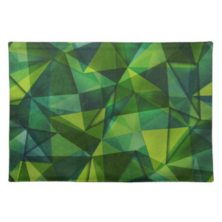 pattern green placemat