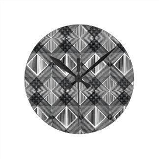 pattern I Round Clock